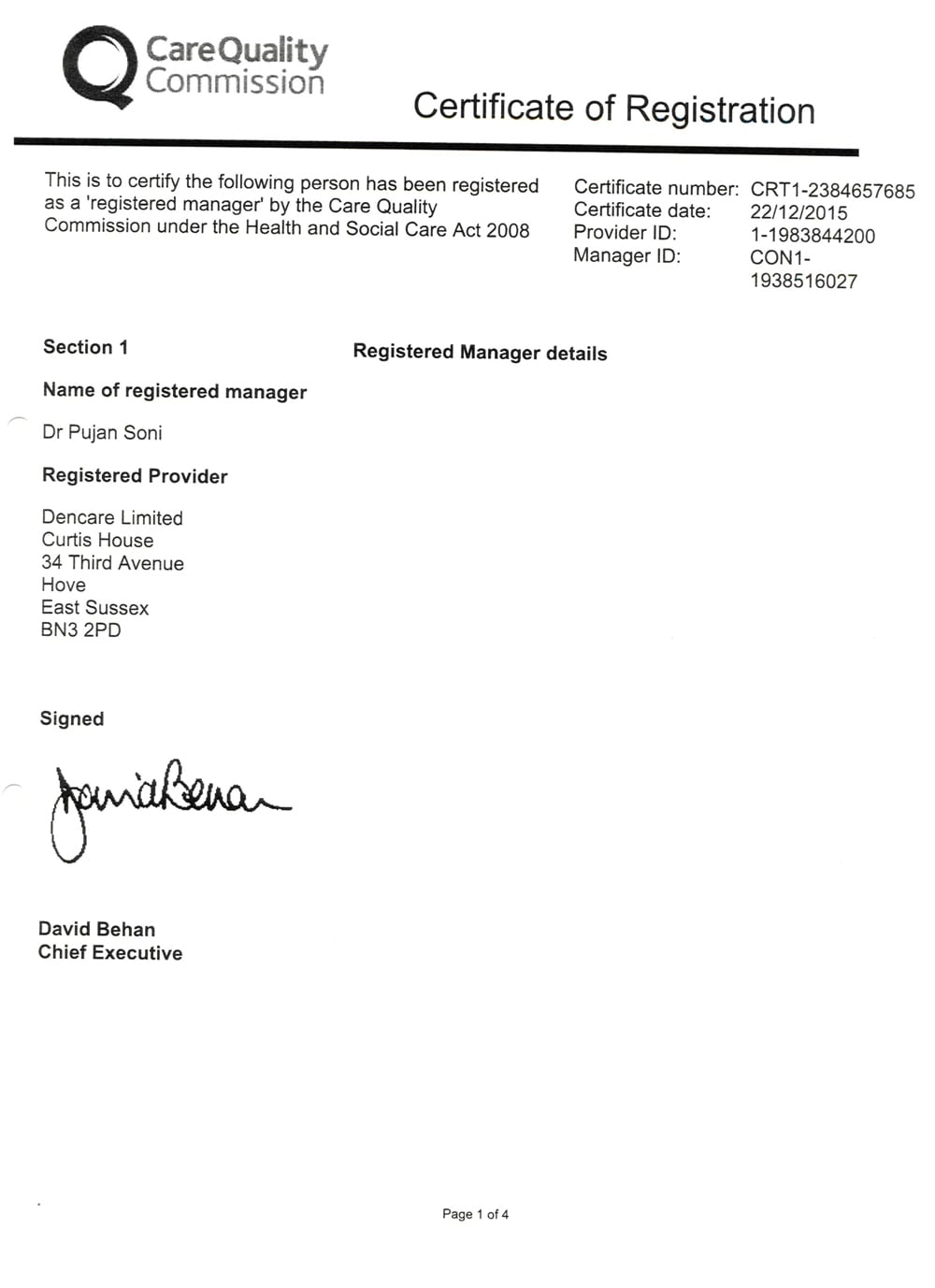 CQC registration documents 001
